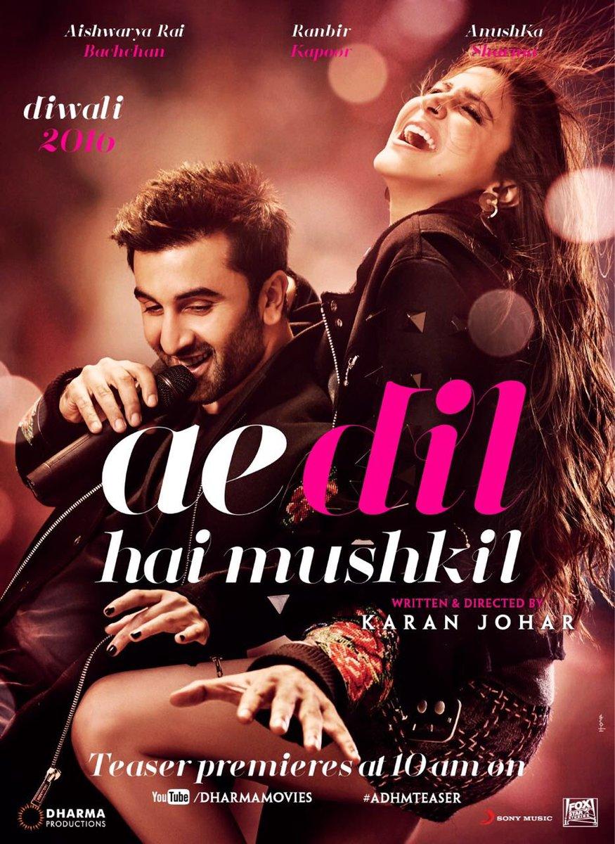 Ae Dil Hai Mushkil 2016 720P Movie