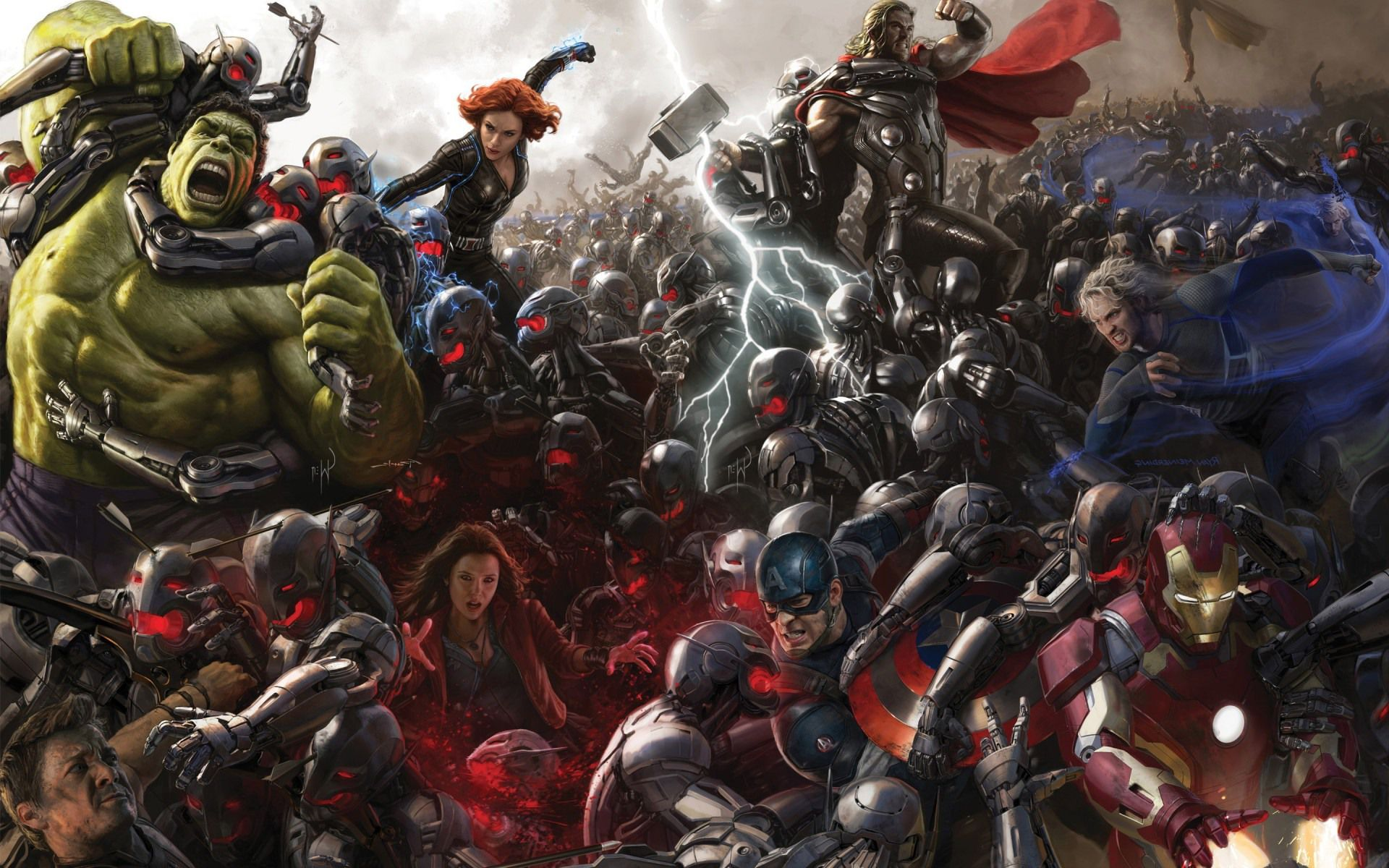 AVENGERS  AGE OF ULTRO...
