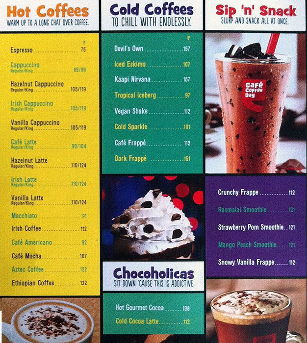 Cafe Coffee Day Deals