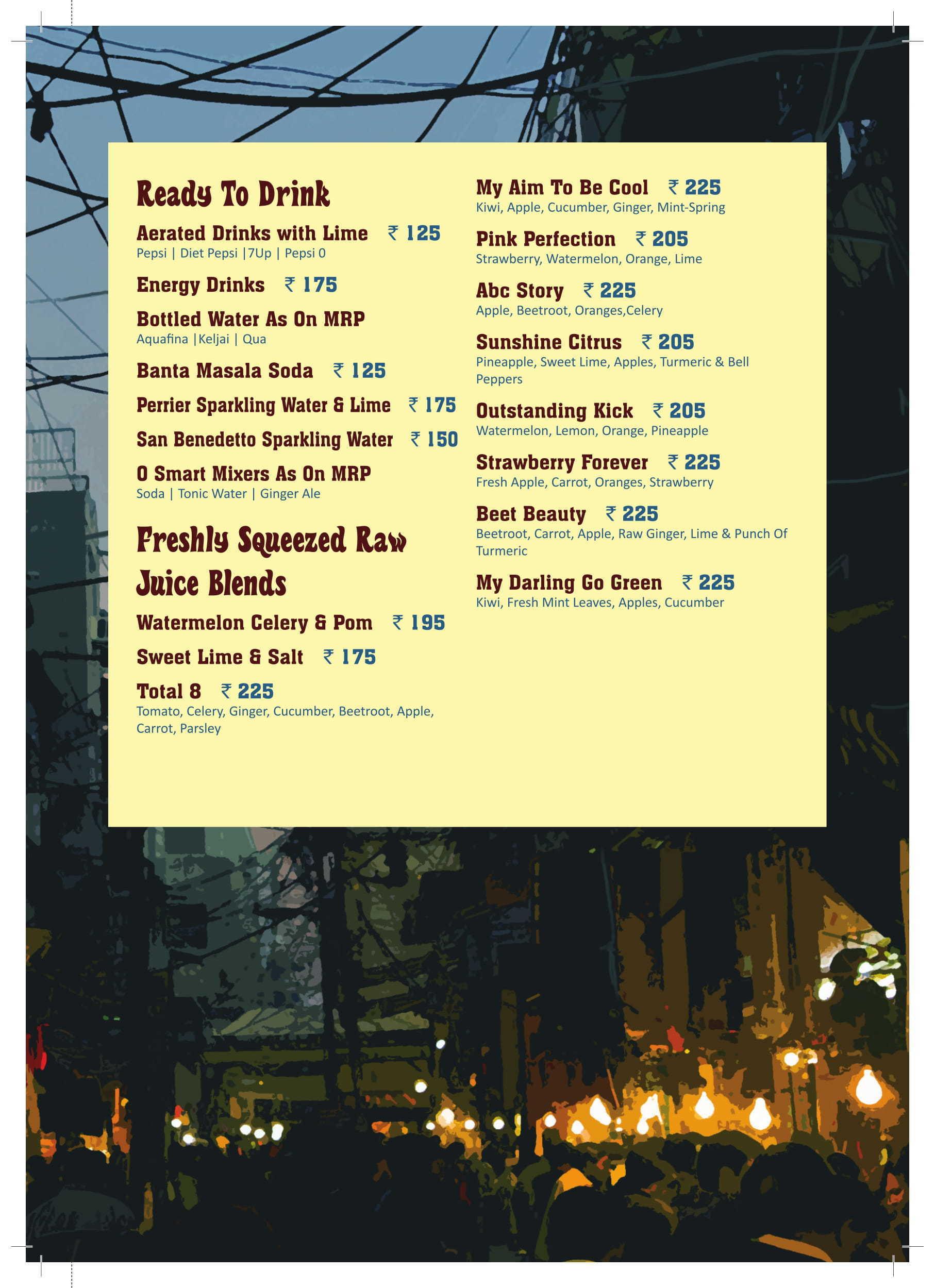 CAFE DELHI HEIGHTS - DLF PROMENADE MALL - VASANT KUNJ - NEW