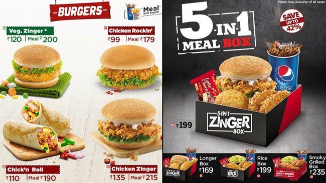 Kfc menu and prices in bangalore dating