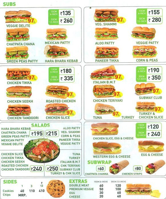 """subway restaurant product strategies """"subway"""" is facing very hard competition in the market of fresh foods 2 to exist in such environment, it is making new marketing strategies to be in the top of the list."""