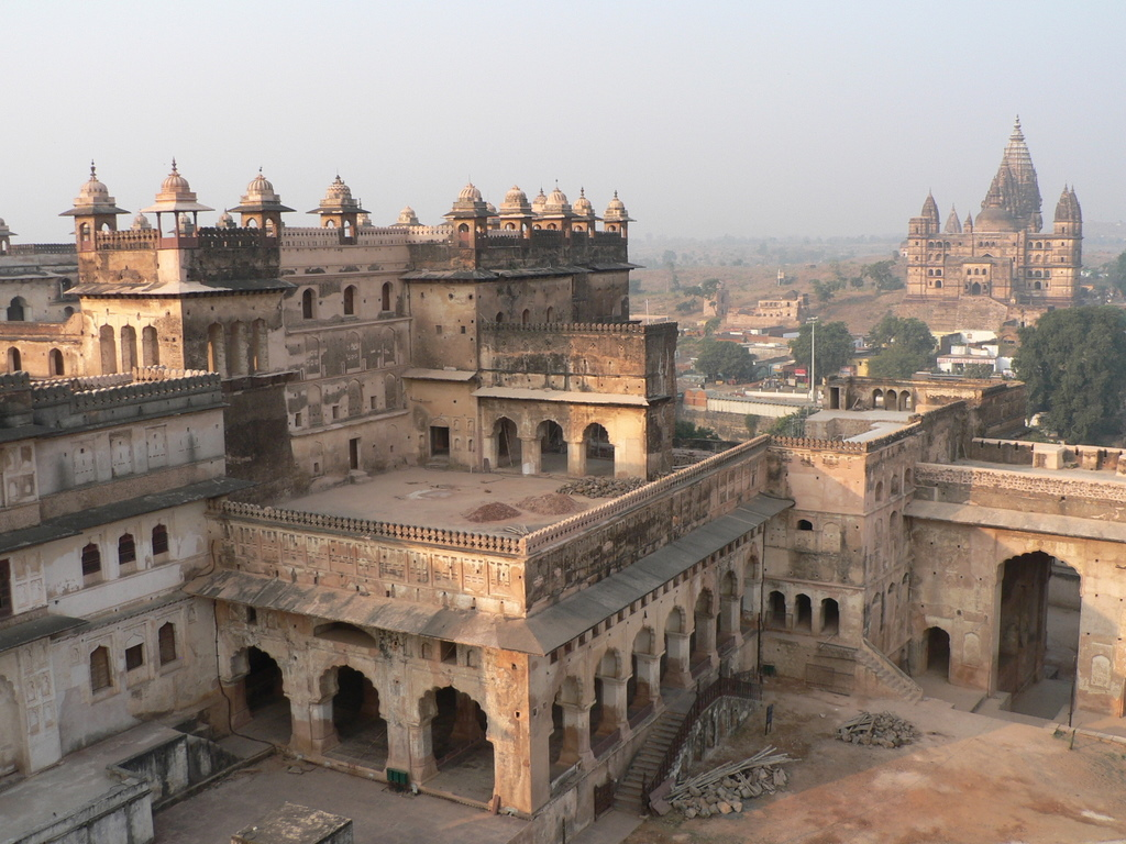 RAJ MAHAL - ORCHHA Photos, Images and Wallpapers, HD ...