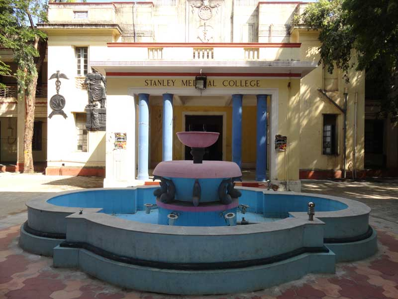 Image result for Stanley Medical College Fountain