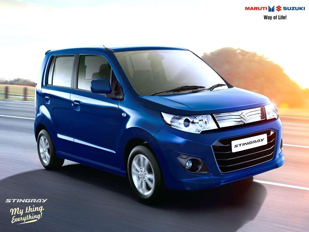 Maruti Suzuki Wagon R Stingray 2015 Vxi Photos Images And