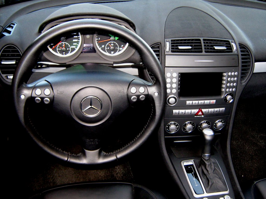 Mercedes benz slk 55 amg photos