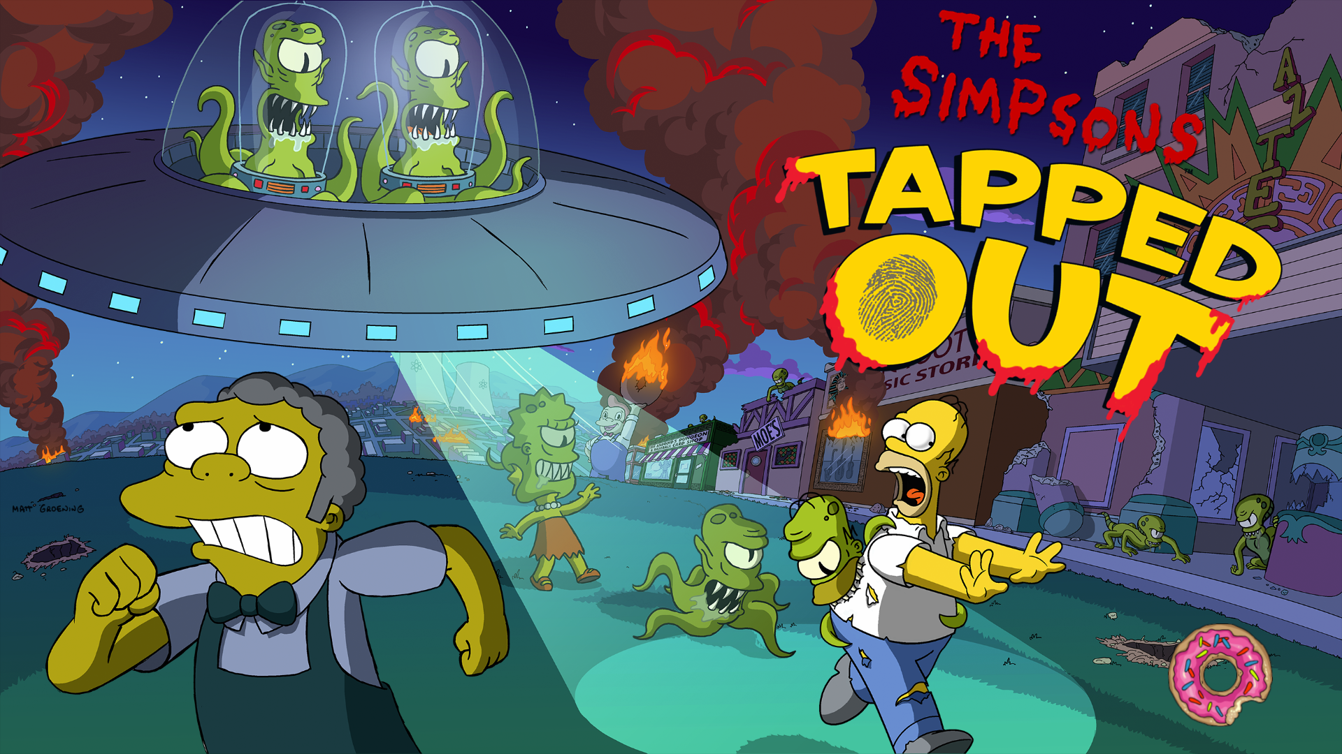 What are the simpsons tapped out halloween prizes
