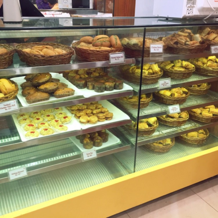 Merwans Cake Shop Menu