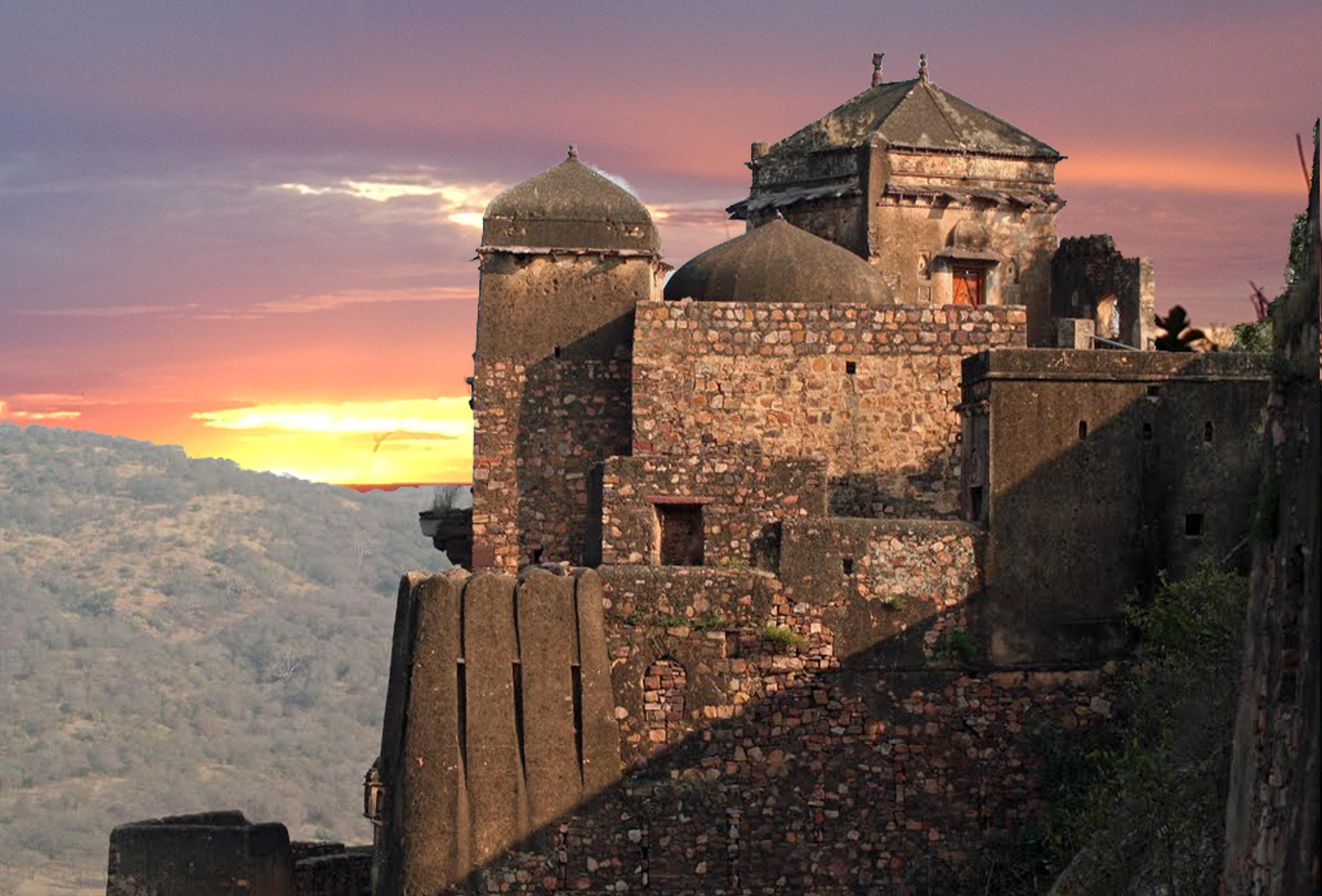 Image result for ranthambore fort