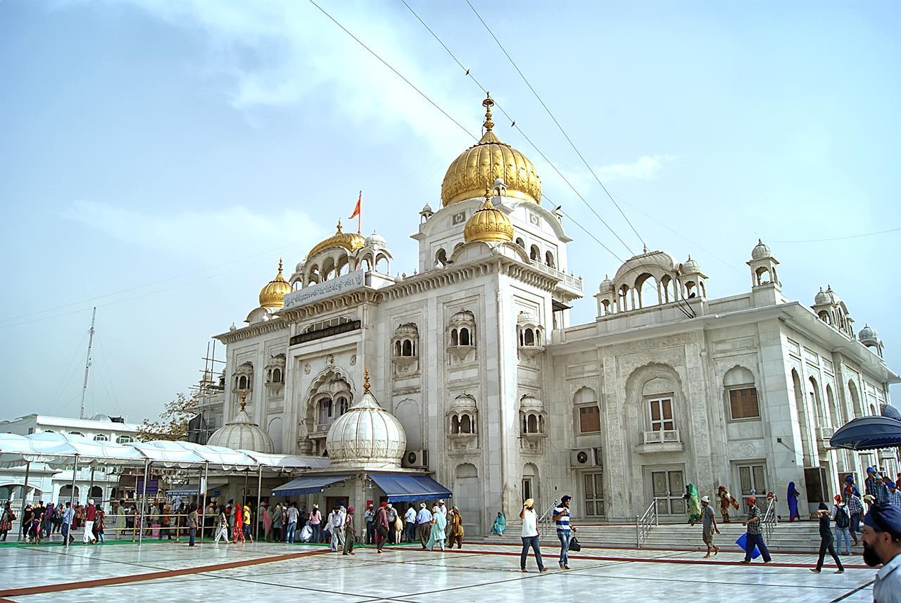 Image result for free image ofBangla sahib gurudwara delhi