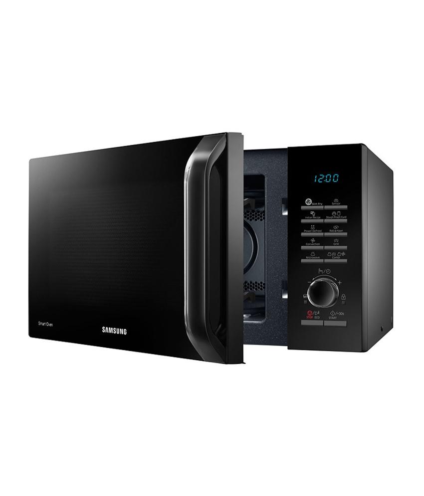 samsung 28 ltr mc28h5135vk tl convection microwave oven. Black Bedroom Furniture Sets. Home Design Ideas
