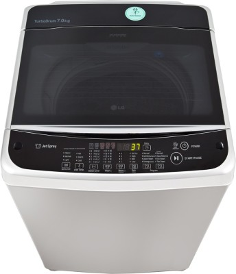 lg t8068teel1 7 kg fully automatic top loading washing machine photos