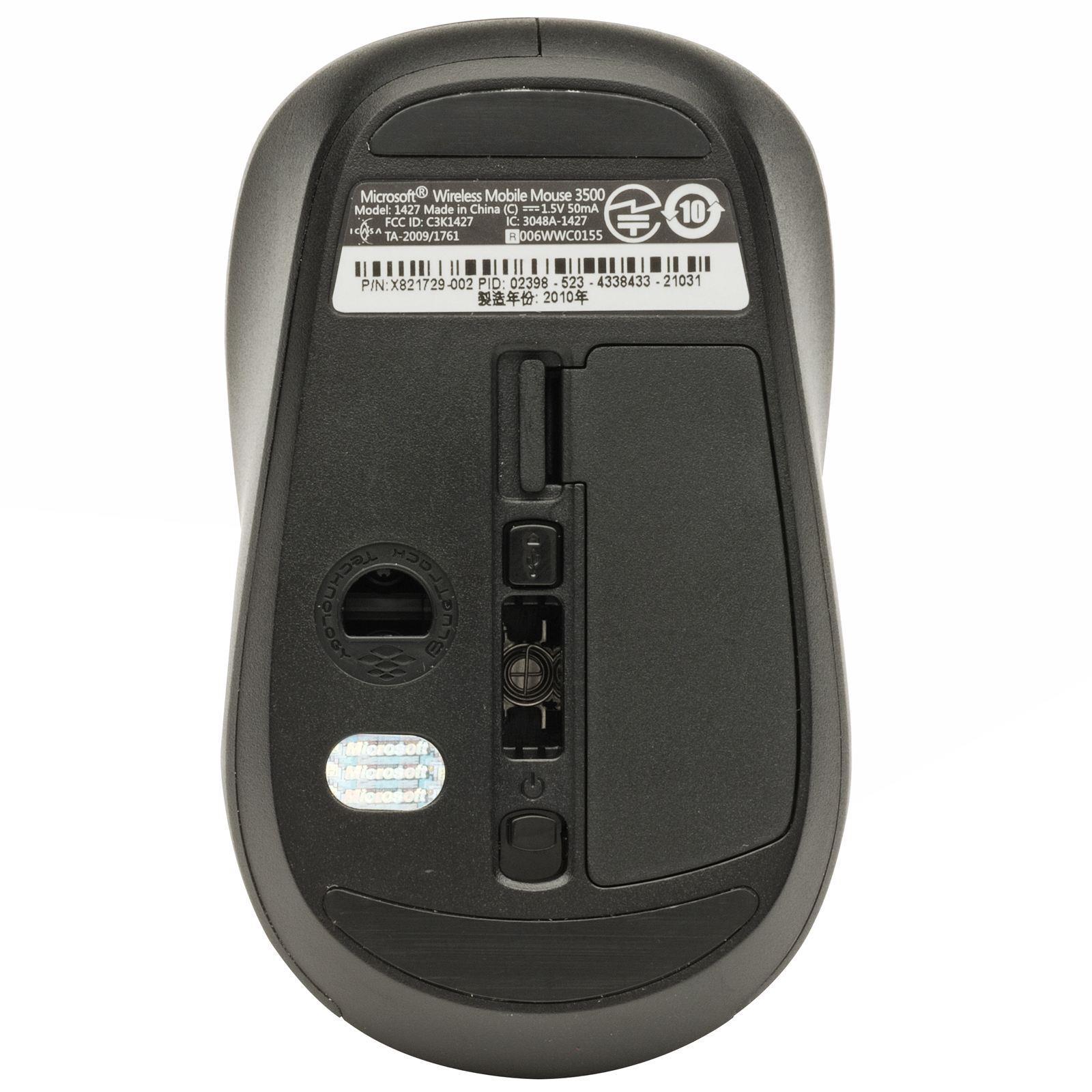 microsoft wireless mouse 3500 model 1427 driver
