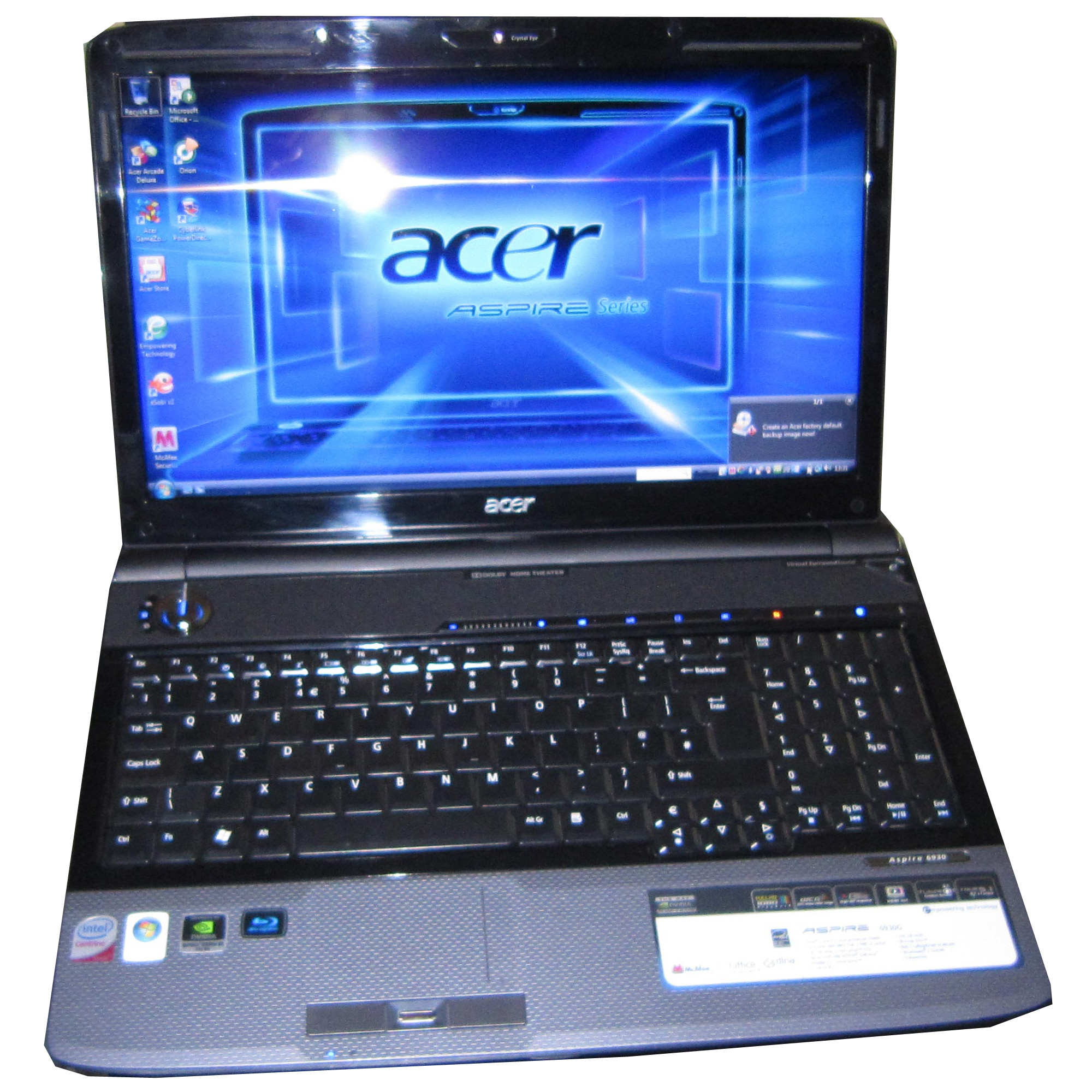 Driver needed for acer Aspire 5610z
