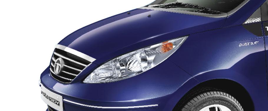 Tata Vista Quadrajet VX On Road Price (Diesel), Features ...
