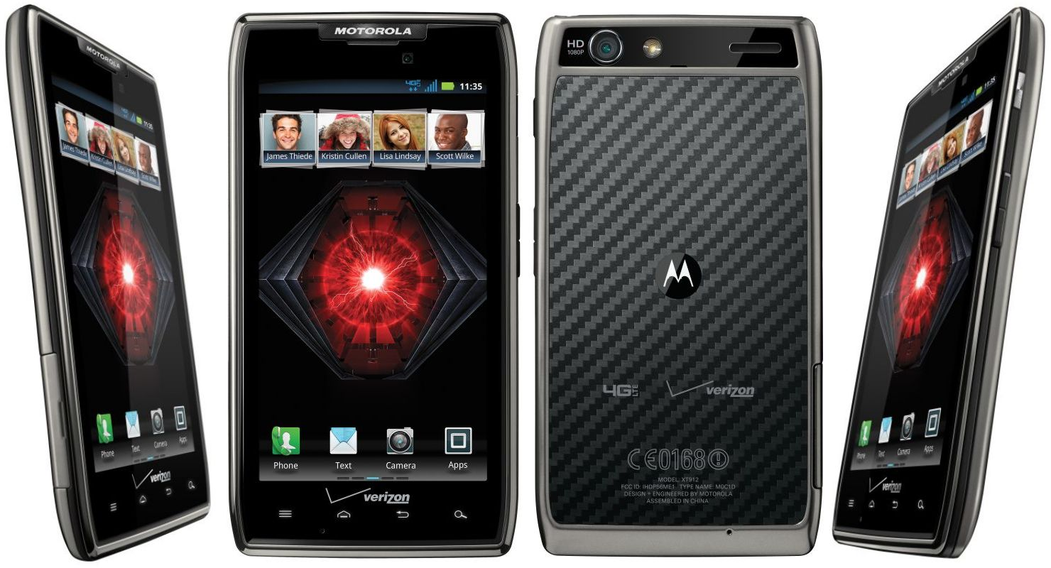 Motorola announces DROID RAZR HD, RAZR MAXX HD, and RAZR M