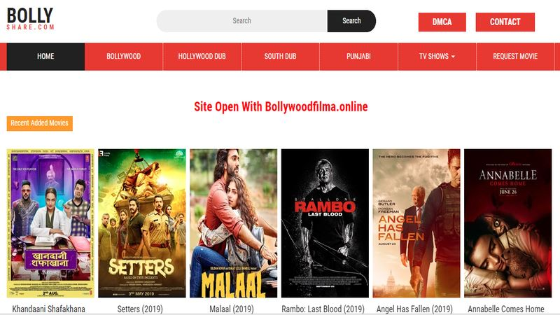 BollyShare (Updated 2021) - Greatest Website to Download Movies, Information, Blog