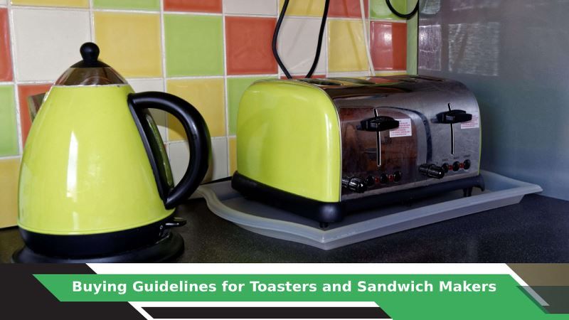 How to buy Toaster and Sandwich Maker?