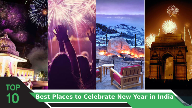 Top 10 Best Places to Celebrate New Year in India