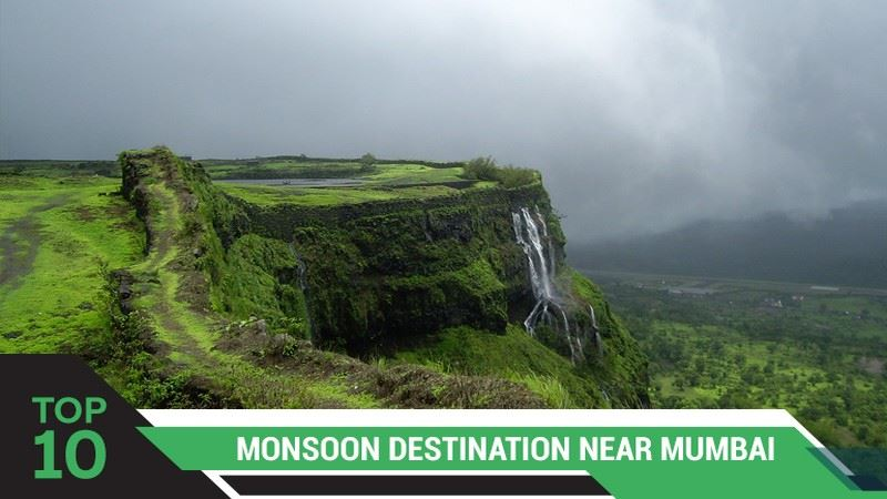 Top 10 Monsoon Destinations Near Mumbai