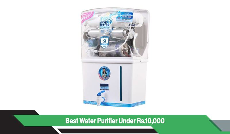 Best Water Purifier Under Rs 10,000 in India