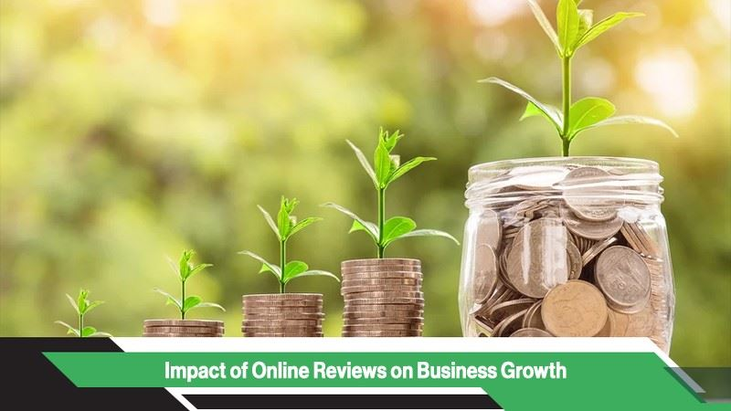 Impact of online reviews on business growth