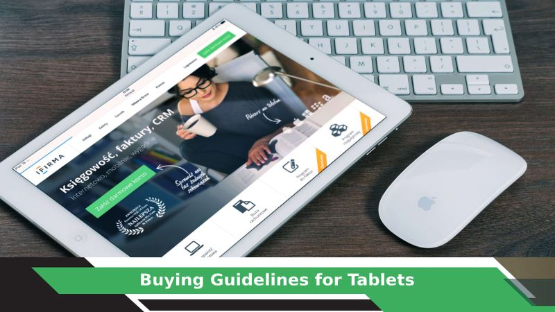 How to buy a Tablet?
