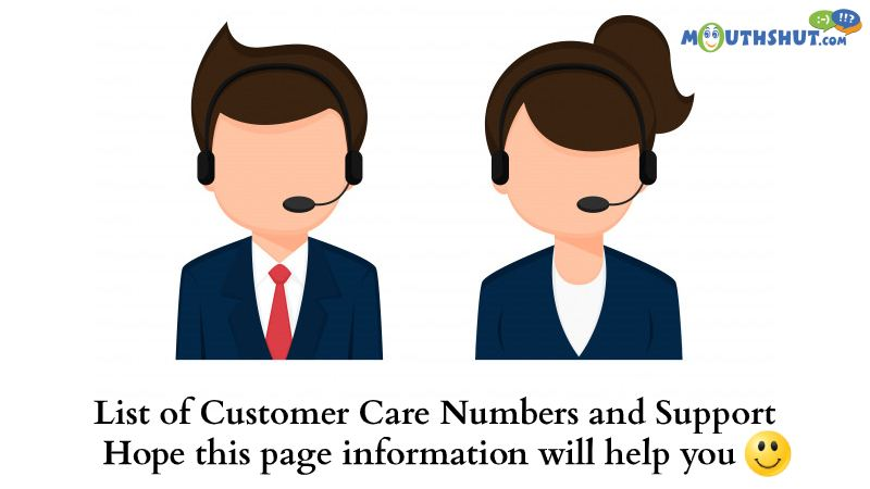 All Customer Care Numbers and Support