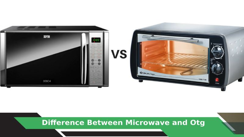 Difference Between Microwave and Otg