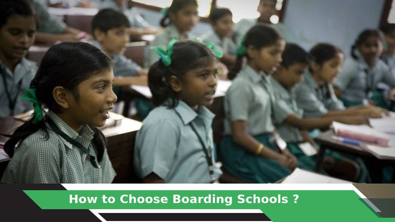 How to Choose a Boarding School ?
