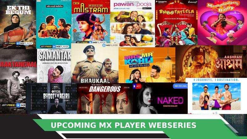 MX Player Upcoming Web Series