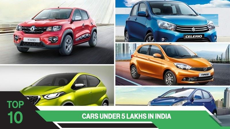 Top 10 Mileage Cars under 5 lakhs in India
