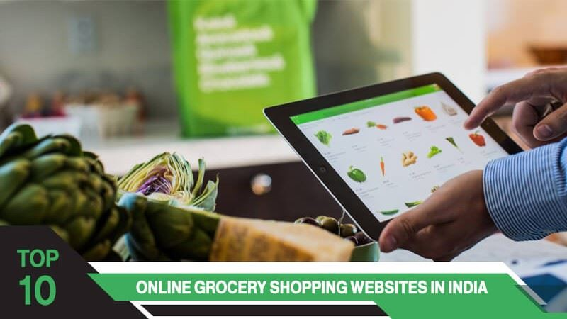 Top 10 Online Grocery Shopping Websites in India