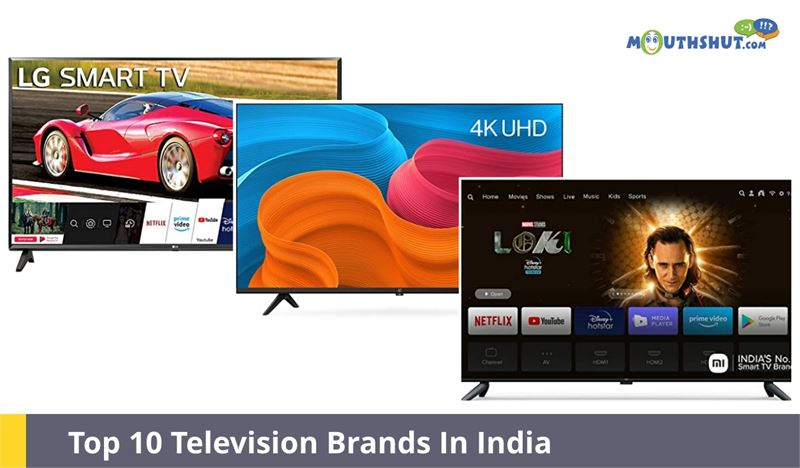 Top 10 Television Brands in India