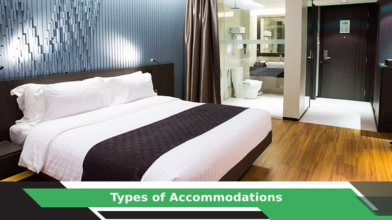 Types of Accommodation Available for your Travel