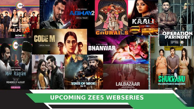 Zee5 Upcoming Web Series 2020