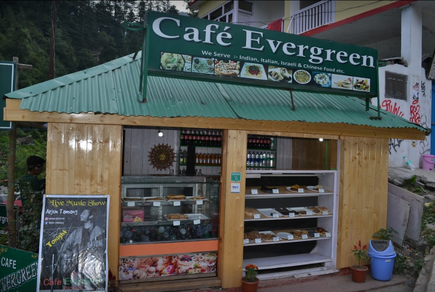 Cafe Evergreen, Old Manali, Manali Photo1