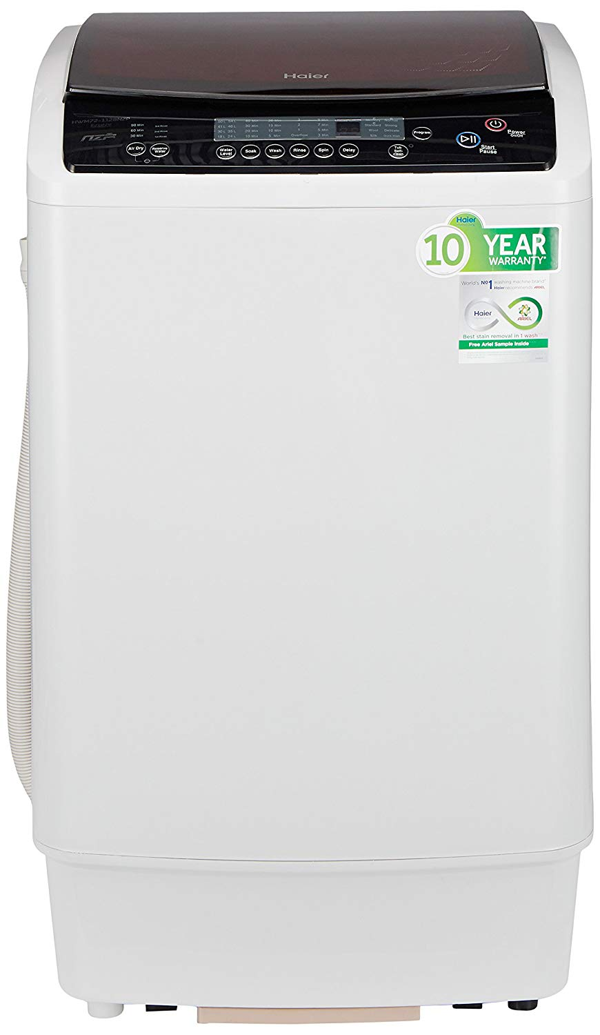 Haier 7.2 kg Fully-Automatic Top Loading Washing Machine Photo1
