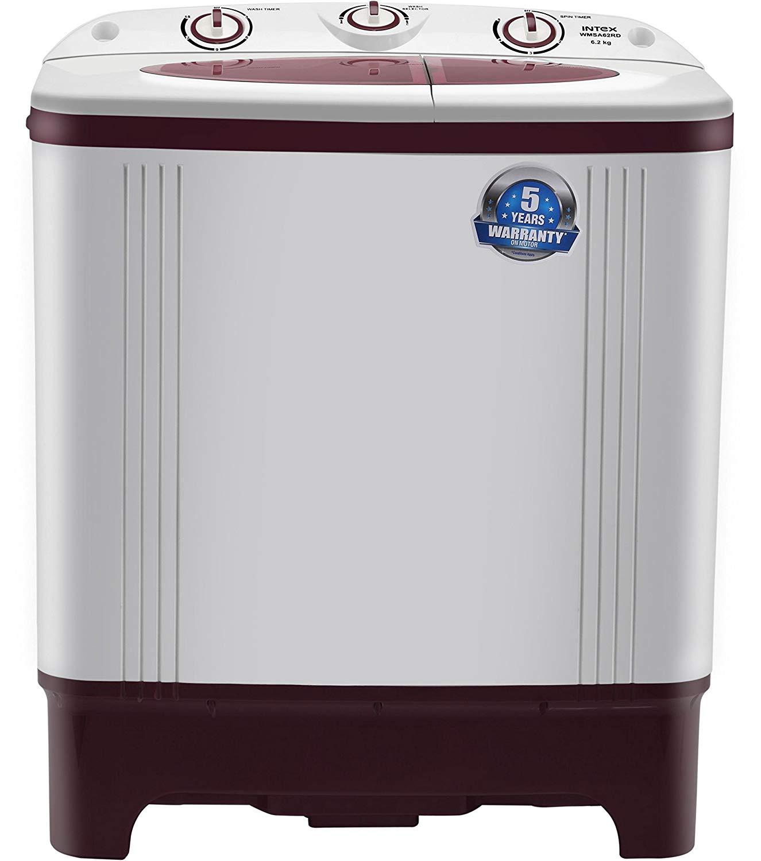 Intex 6.2 kg WMSA62RD Semi Automatic Top Load Washing Machine Photo1