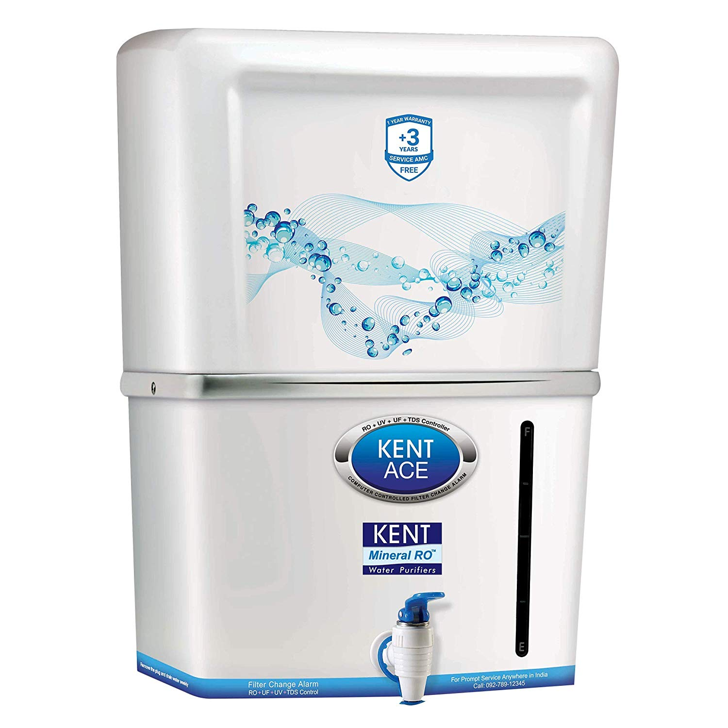 Kent Ace Mineral 7 liter 60 watt RO+ UV+UF water purifier Photo1