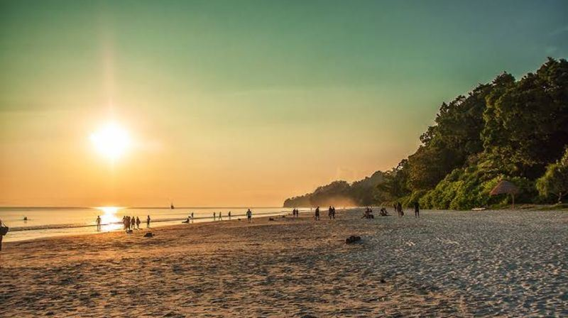 Radhanagar Beach - Port Blair Photo3