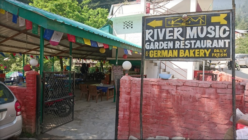 River Music Garden Restaurant And German Bakery, Old Manali, Manali Photo1