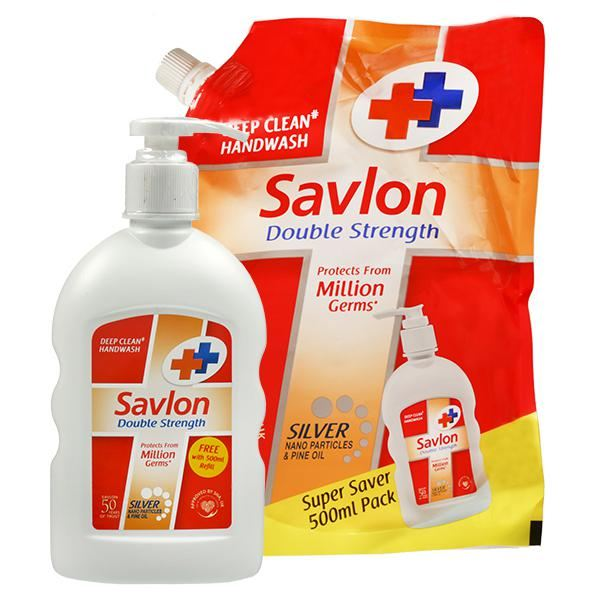 Savlon Double Strength Deep Clean Handwash Photo1