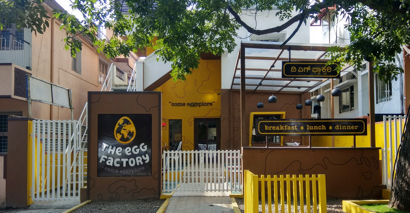 The Egg Factory, St Marks Road, Bangalore Photo1