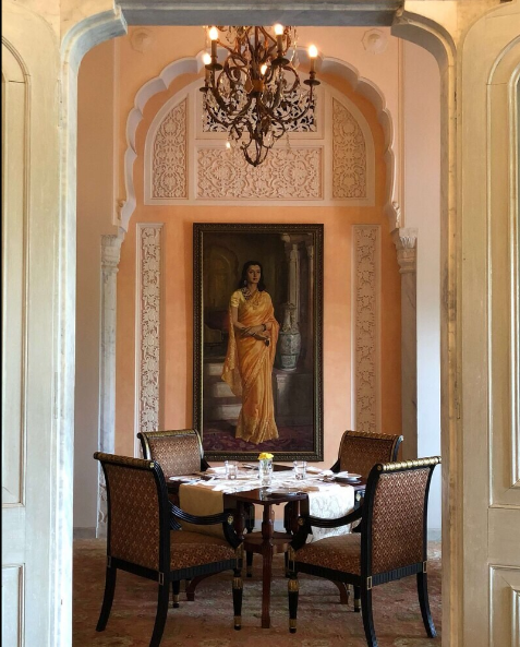 The Verandah - Rambagh - Jaipur Photo1