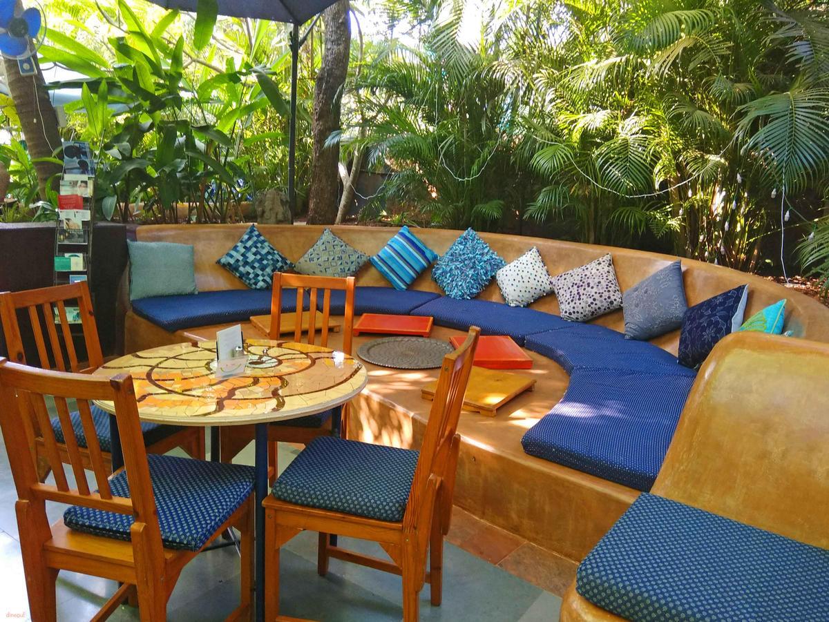 Villa Blanche Bistro, Assagao, Goa Photo1
