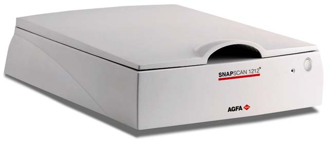 Agfa snapscan 1212u color flatbed scanner (blue) video dailymotion.