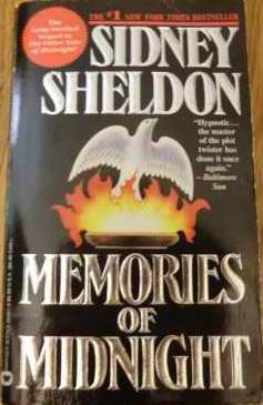 Memories Of Midnight - Sidney Sheldon Image