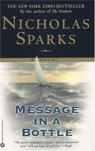 Message In a Bottle - Nicholas Sparks Image