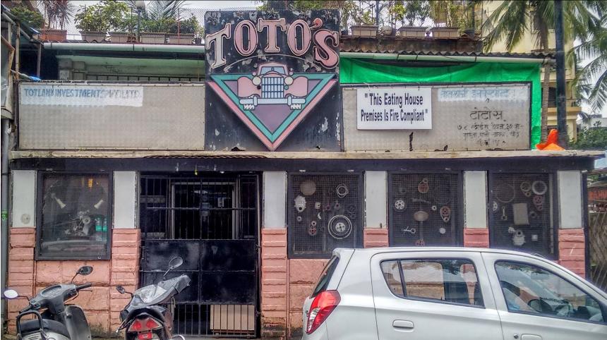 Totos garage bandra mumbai reviews menu order address phone